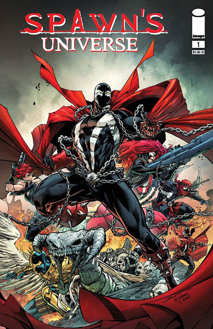 Todd McFarlane launches first comic introducing Spawn's Universe