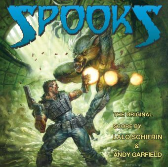 Spooks Comic Book Series Original Soundtrack Score by Lalo Schifrin CD Edition