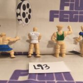 Vintage Bootleg Street Fighter 1 inch Mini Action Figures Gumball Gashapon [L93]