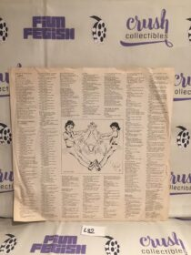 Original Album Sleeve Insert From Michael Jackson's Thriller MJ Autographed Art Work [L82]