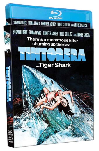 Tintorera: Tiger Shark Blu-ray with Limited Edition Slipcover