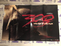 300: The Art of the Film Double-Sided 34×22 inch Promotional Poster [H51]