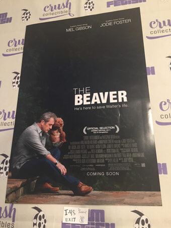 The Beaver 11×17 inch Promotional Poster (2011) Mel Gibson, Jodie Foster [I48]