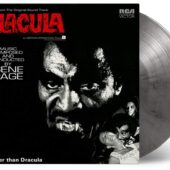 Blacula Music From the Original Soundtrack Limited Silver/Black Marbled Vinyl Edition