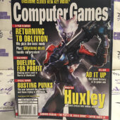 Computer Games Magazine (April 2007) Oblivion, Shivering Isles, Huxley [H50]