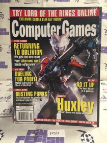 Computer Games Magazine (April 2007) Oblivion, Shivering Isles, Huxley [H50]