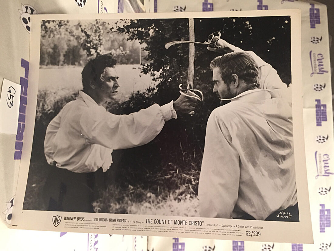 The Story of the Count of Monte Cristo Original Lobby Card Press Publicity Photo [G53]