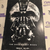 The Dark Knight Rises 13×19 inch Original Card Stock IMAX Promotional Poster [I72]