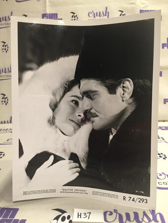 Doctor Zhivago (1965) Original Lobby Card Press Photo, Geraldine Chaplin, Omar Sharif [H37]