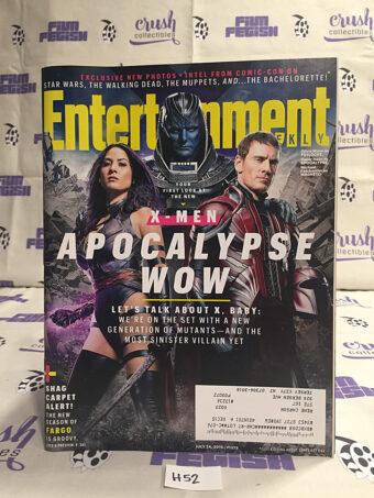 Entertainment Weekly (July 24, 2015, No. 1373) X-Men: Apocalypse, Michael Fassbender, Oscar Isaac, Olivia Munn [H52]
