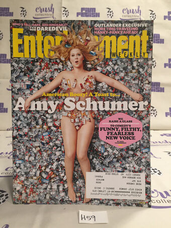 Entertainment Weekly (April 10, 2015, No. 1358) Amy Schumer [H59]