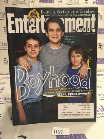 Entertainment Weekly (Jan 23, 2015) Batman, Beetlejuice & Zombies, Ellar Coltrane in Boyhood [H62]