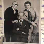 George Burns, Walter Matthau, Richard Benjamin in The Sunshine Boys (1975) Lobby Card Press Photo [G63]