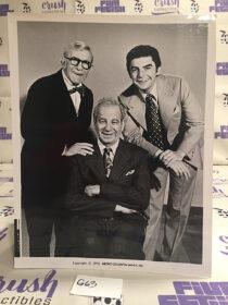George Burns, Walter Matthau, Richard Benjamin in The Sunshine Boys (1975) Lobby Card Press Photo [G63]