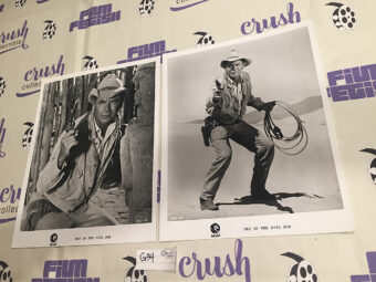 Day of the Evil Gun (1968) Set of 2 Lobby Card Press Photos Glenn Ford [G34]