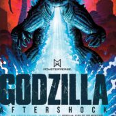 Godzilla Aftershock Hardcover Graphic Novel – Exclusive Art Adams Variant Cover