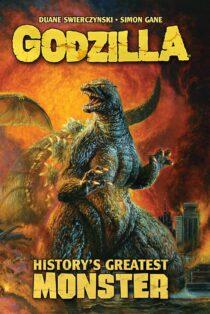 Godzilla: History's Greatest Monster Trade Paperback Edition – Bob Eggleton Cover Art