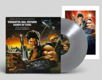 Hands Of Steel (Vendetta Dal Futuro) Original Soundtrack by Claudio Simonetti – Goblin Limited Silver Vinyl Edition + Poster