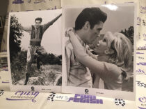 Elvis Presley, Nancy Sinatra Set of 2 Original Publicity Press Photos MGM Movies Harum Scarum (1965) and Speedway (1968) [G74]