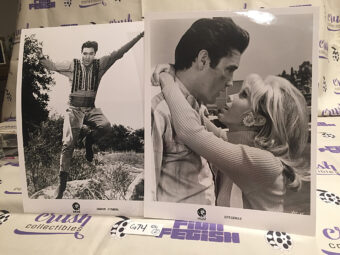 Elvis Presley, Nancy Sinatra Set of 2 Original Publicity Press Photos MGM Movies Harum Scarum (1965) and Speedway (1968) [G74]