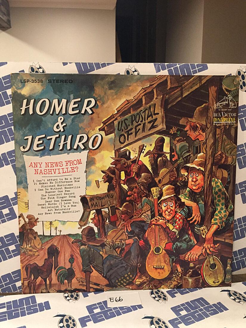 Homer & Jethro Any News From Nashville? (1966) LSP 3538 Stereo Vinyl Edition [E66]