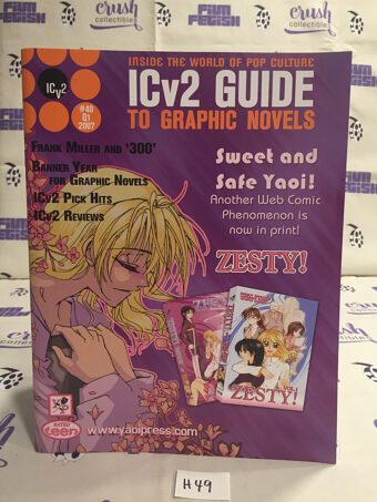 ICv2 Guide To Graphic Novels (2007) Zesty [H49]