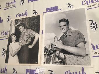 John Erickson Set of 2 MGM Publicity Press Photos [F78]