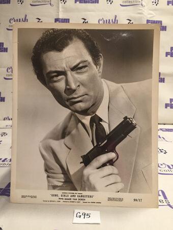 Lee Van Cleef in Guns Girls and Gangsters Original Lobby Card Press Photo [G95]