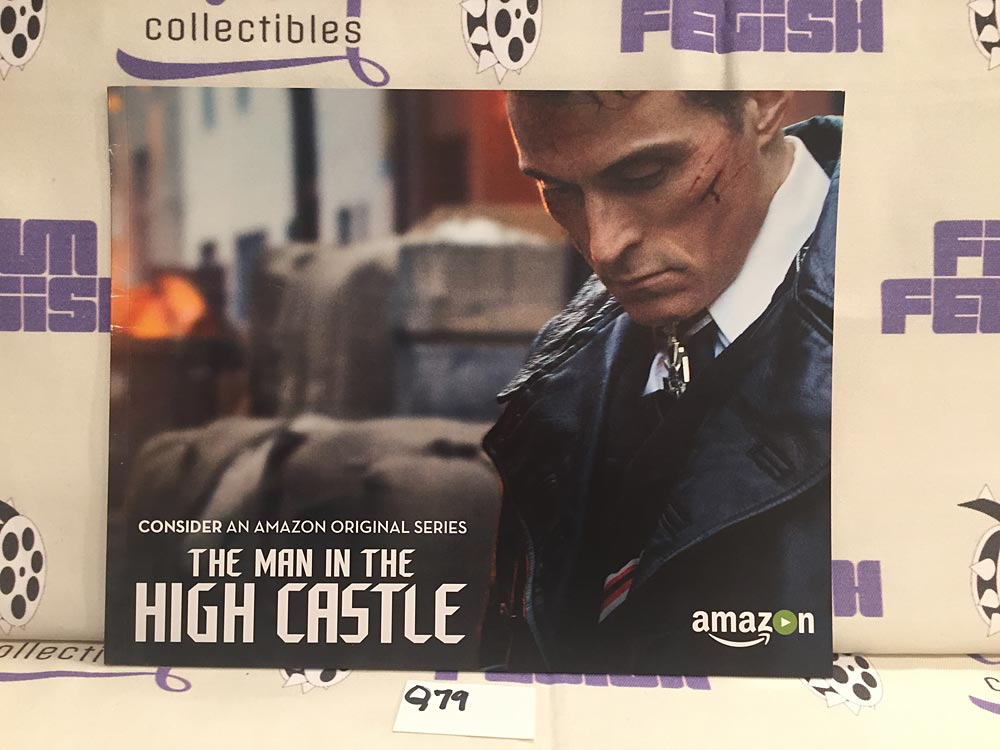 The Man in the High Castle Press Booklet (2015) Rufus Sewell [Q79]