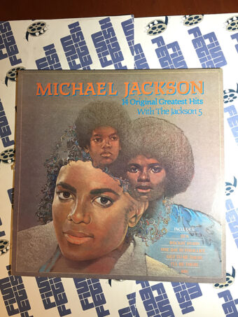 Michael Jackson 14 Original Greatest Hits with the Jackson 5 Vinyl Alternate Cover Edition (1983)