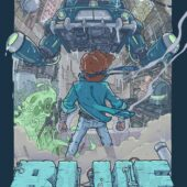 Project Blue Original Nintendo Video Game Soundtrack by Toggle Switch Limited Vinyl Edition