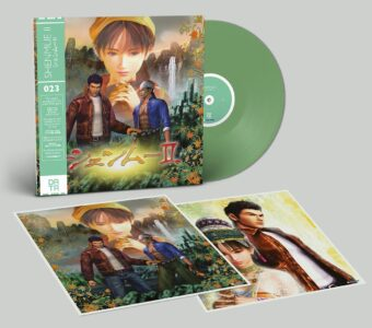 Shenmue II Original SEGA Game Soundtrack Limited Vinyl Edition