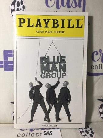 Playbill Magazine (November 2005) Blue Man Group Astor Place Theatre