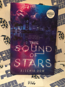 The Sound of Stars Paperback Edition (2020) Uncorrected Proof [H66]