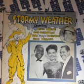 Stormy Weather Original Soundtrack Recording Lena Horne, Cab Calloway, Bill 'Bojangles' Robinson and Fats Waller (1976) STK-103