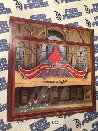 Styx Paradise Theater Vinyl Gatefold Edition (1981) SP-3719 [E32]