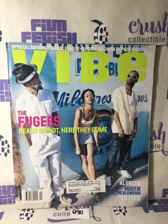 Vibe Magazine (June/July 1996) Special Summer Double Issue – The Fugees Cover [Q90]