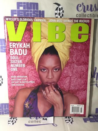 Vibe Magazine (August 1997) Erykah Badu Cover, Boot Camp Clik [R01]