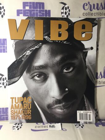 Vibe Magazine (November 1996) Tupac Amaru Shakur Memorial Cover [R02]