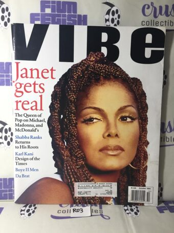 Vibe Magazine (October 1994) Janet Jackson Cover [R03]