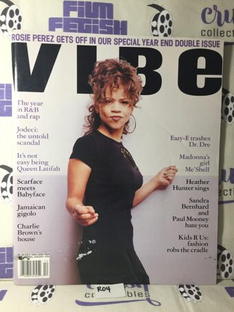 Vibe Magazine (Dec 1993 / Jan 1994) Rosie Perez Cover [R04]