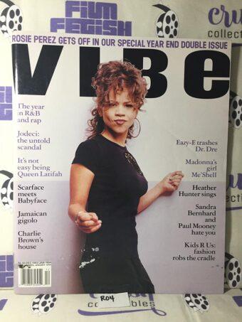 Vibe Magazine (Dec 1993 / Jan 1994) Rosie Perez Cover [R04]
