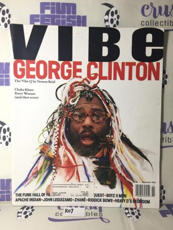 Vibe Magazine (November 1993) George Clinton, Chaka Khan [R07]