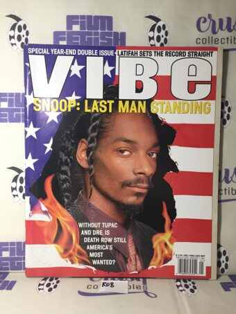 Vibe Magazine (Dec 1996 / Jan 1997) Special Double Issue Snoop Dogg Cover [R08]