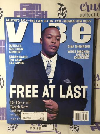 Vibe Magazine (October 1996) Dr. Dre Cover [R10]