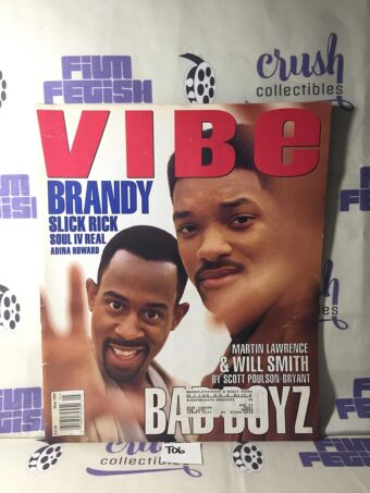 Vibe Magazine (May 1995) Martin Lawrence, Will Smith, Bad Boys [T06]