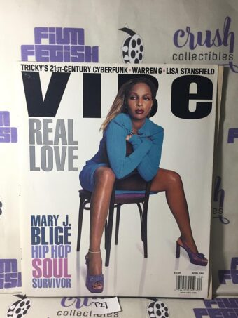 Vibe Magazine (April 1997) Mary J. Blige Cover [T27]