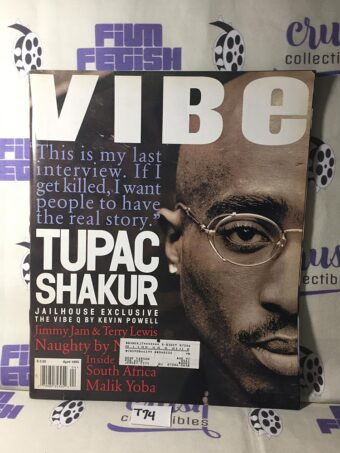 Vibe Magazine (April 1995) Tupac Shakur Jailhouse Interview [T74]