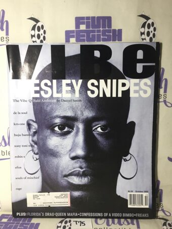 Vibe Magazine (October 1993) Wesley Snipes Cover [T75]