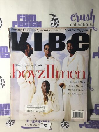 Vibe Magazine (March 1995) Boyz II Men, Method Man, Keith Murray [T76]